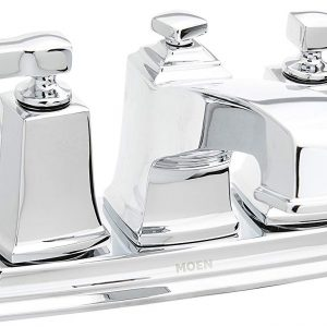 LaToscana 87PW214W Ornellaia Mini-Widespread Lavatory Faucet with Cross Handles Brushed Nickel Finish